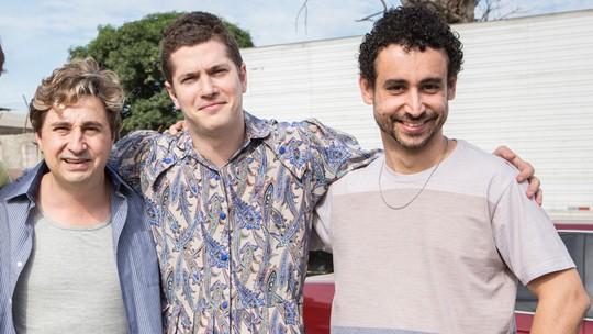 Caio Paduan, Paulo Verlings e Leandro Daniel mostram os bastidores da fuga de Alex