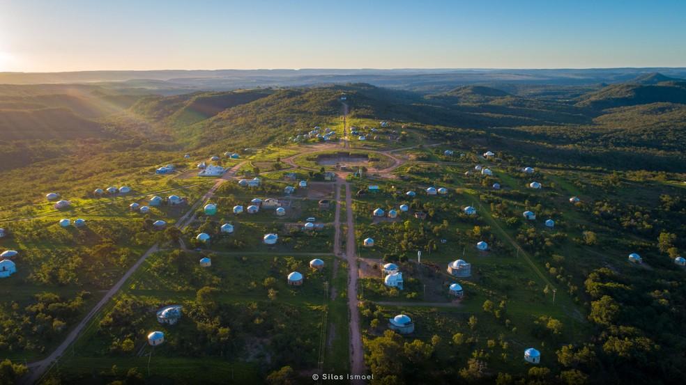 Zigurats 2020 — Foto: Drone Silas Ismael