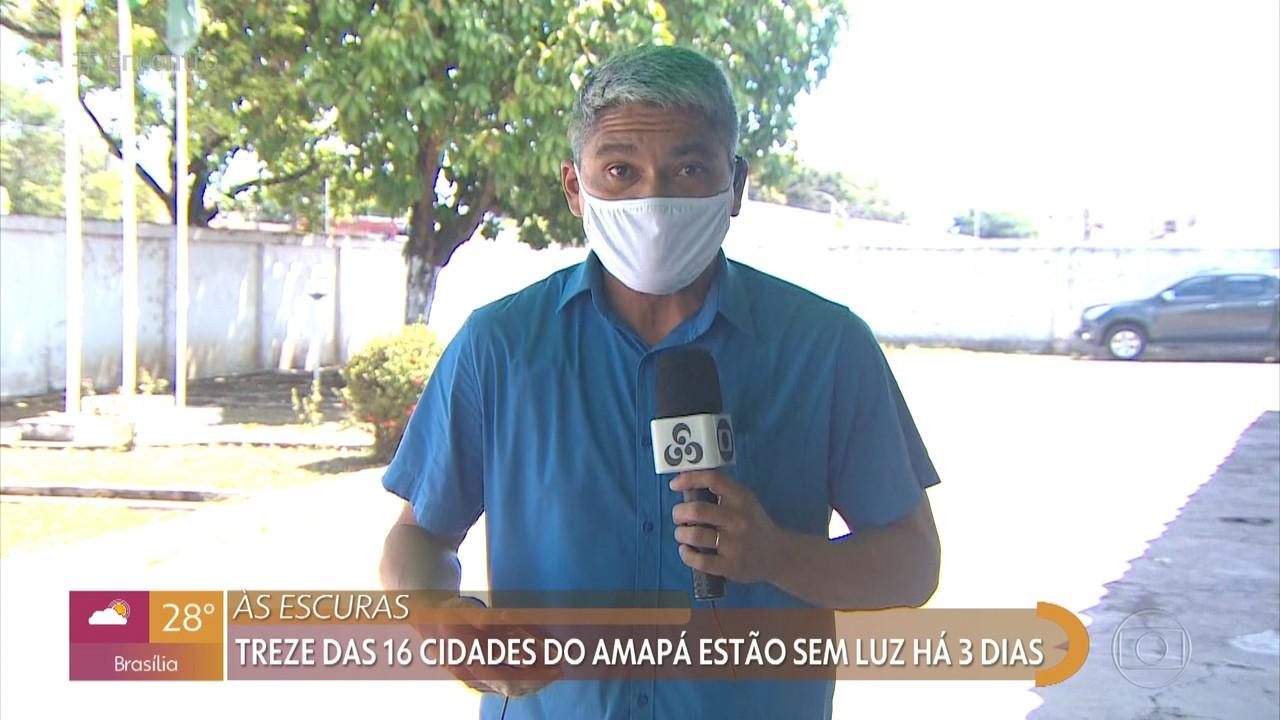 Apagão no estado do Amapá já dura três dias