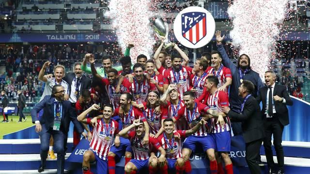 1d779f19b7863 Real Madrid 2 x 4 Atlético de Madrid - Supercopa da Europa 2018 ...