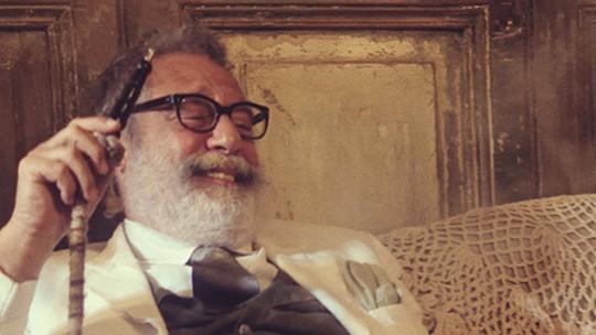 Antonio Fagundes interpreta Halim, em 'Dois Irmãos', nova minissérie da Globo