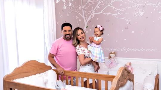 Sertanejo Edson mostra quarto da filha Bella: 'Cantinho da casa que mais amamos'