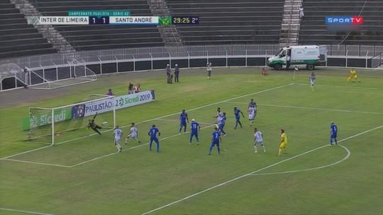 Inter de Limeira x Santo André - Campeonato Paulista Série A2 2019 - globoesporte.com