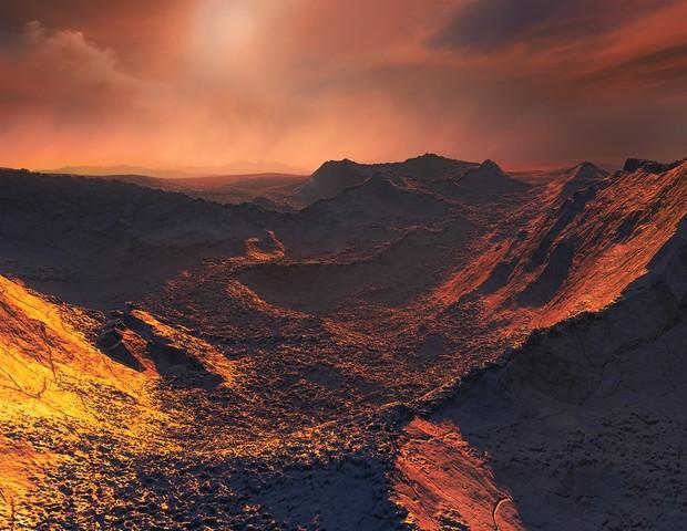 Exoplaneta é encontrado perto da Estrela de Bernard (Foto: Reprodução ESO)
