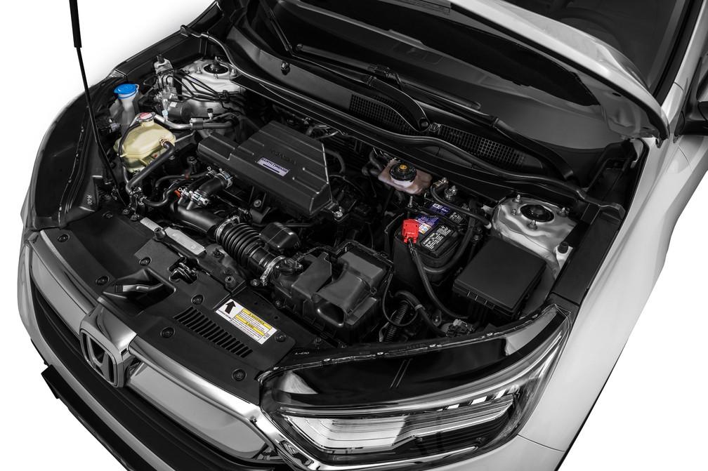 Honda CR-V 2018 tem motor 1.5 turbo (Foto: Honda/Divulgação)
