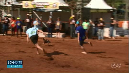 Evento reúne agricultores de Turvo para competição diferente