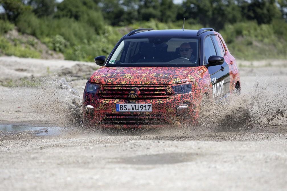T-Cross entrará na briga dos SUV compactos (Foto: Divulgação)
