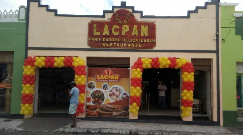 A padaria Lacpan de Cachoeira (BA) (Foto: Divulgação)