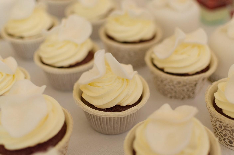 Os mini cupcakes da chef Iracema Bertoco (Foto: Divulgação)