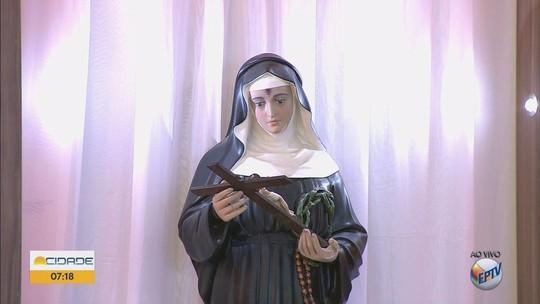 Igrejas católicas celebram dia de Santa Rita de Cássia