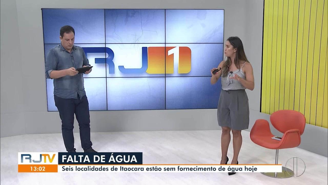 Seis localidades de Itaocara estão sem abastecimento de água após falta de energia