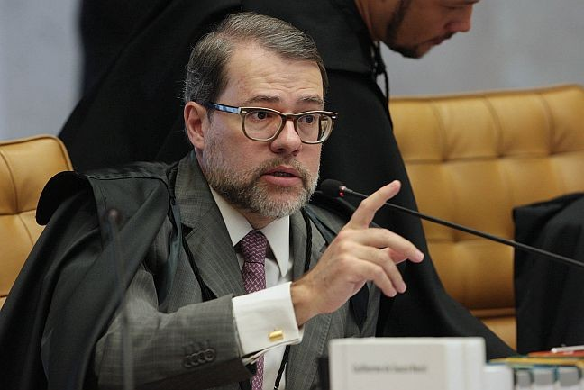 Ministro Dias Toffoli (Foto: Carlos Humberto / STF )