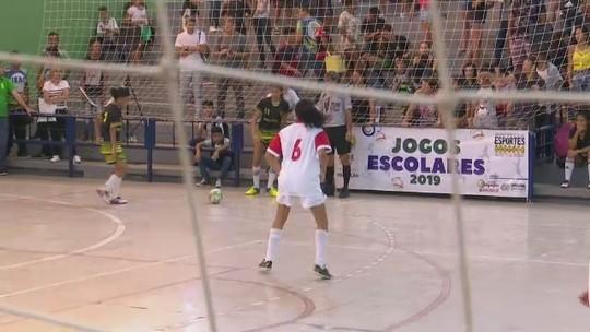 Jogos Escolares: Dom Pedro II, colégios Tiradentes e Acreano vencem fase municipal no futsal