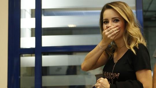 Sandy sobre turnê: 'Emocionada e assustada com a reação da galera'