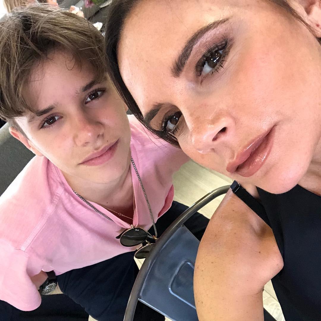 Romeo e Victoria Beckham (Foto: Reprodução Instagram)