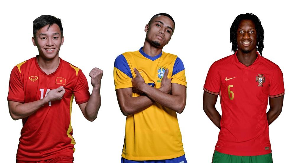 Leozinho é um dos jovens destaques do Mundial de futsal segunda a Fifa — Foto: Divulgação/Fifa