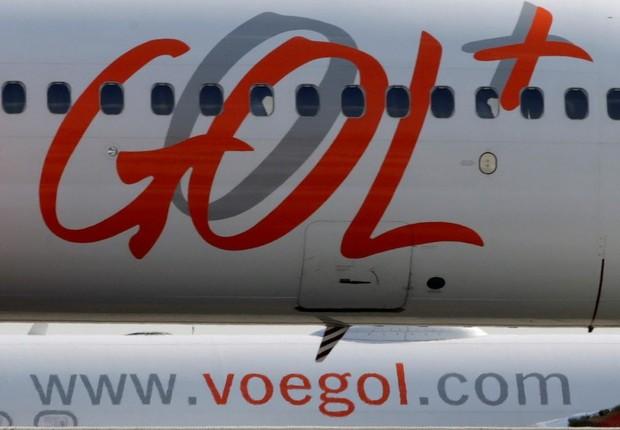 Avião da Gol Linhas Aéreas (Foto: Paulo Whitaker/reuters)