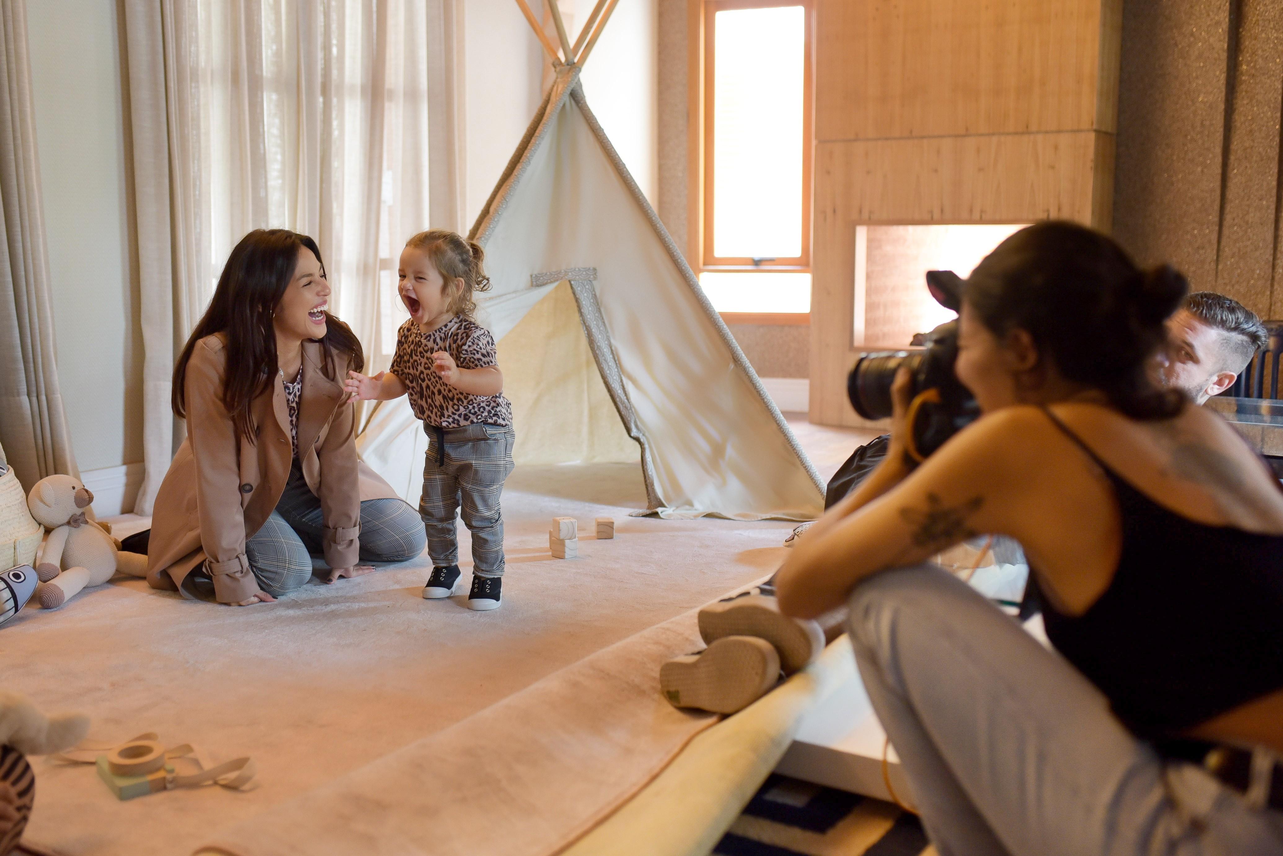 Making of do ensaio de Yanna Lavigne e Madalena (Foto: Rodrigo Zorzi / Divulgação)