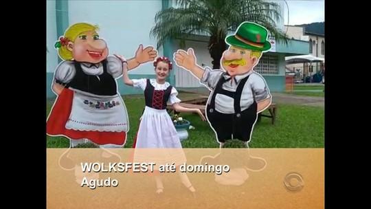 Município de Agudo recebe a Volksfest até domingo, 29/07