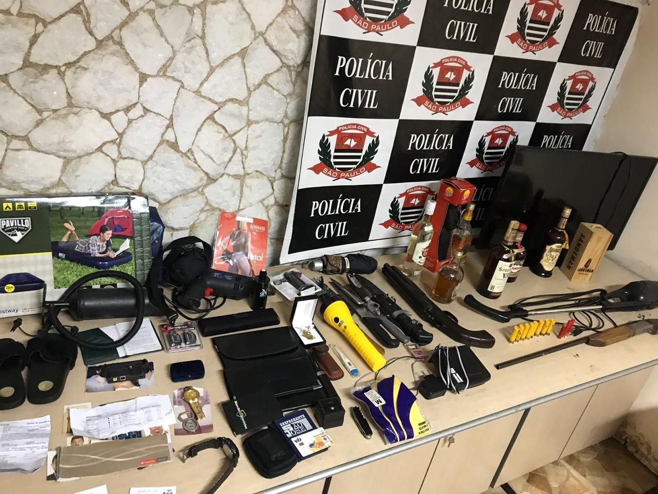 DIG prende três suspeitos de amarrar idosa e roubar casa em Piracicaba - Notícias - Plantão Diário