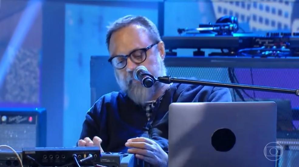 Marcelo Yuka no Programa Conversa com Bial em junho do ano passado — Foto: Reprodução/TV Globo