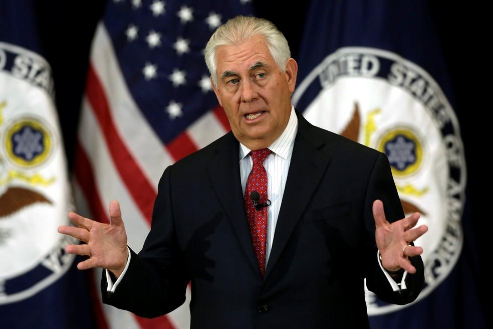 Trump desmente que o seu secretário de Estado esteja de saída
