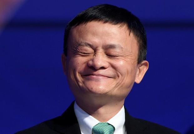 Jack Ma durante o Fórum Econômico Mundial 2017 (Foto: EFE/LAURENT GILLIERON)
