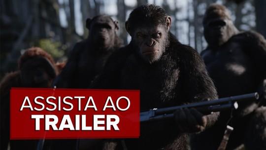 'Planeta dos macacos: A guerra' foca nos primatas e leva personagens digitais a nível nunca visto; G1 já viu