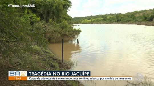 Crianças de 9 e 11 anos morrem afogadas no Rio Jacuípe, na BA, após forte correnteza