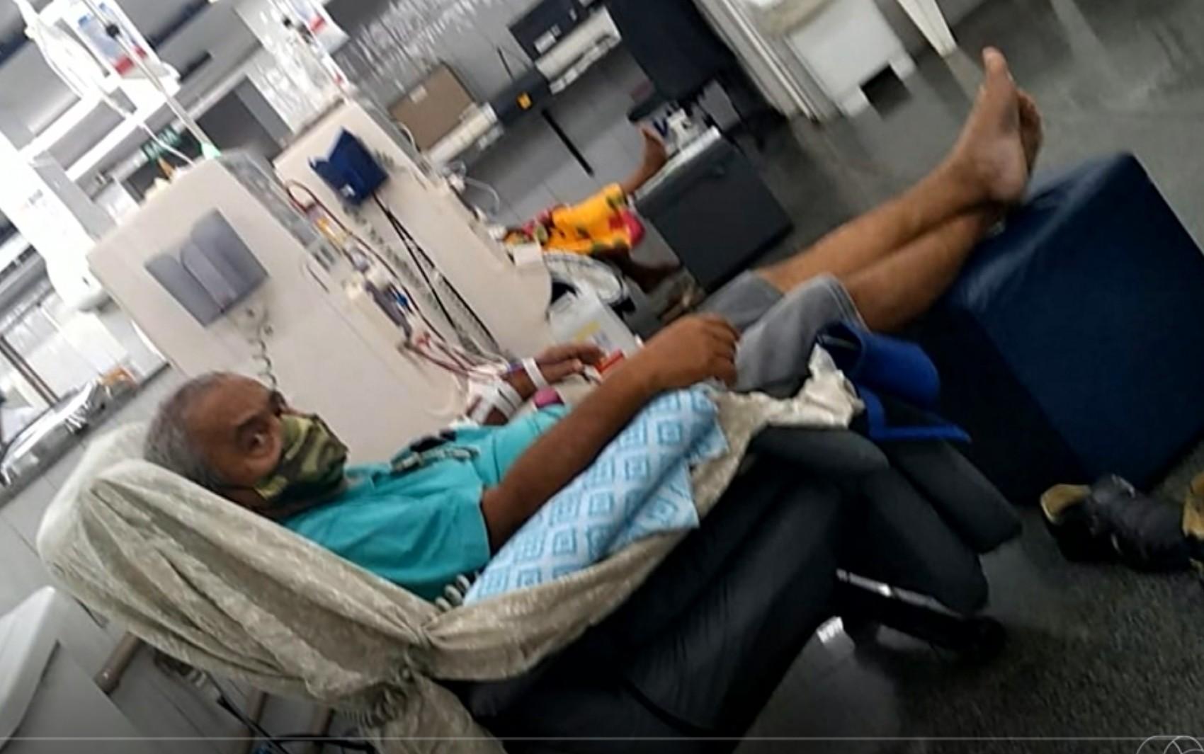 Pacientes com doenças crônicas denunciam que pegaram Covid-19 após usarem transporte da Prefeitura de Santa Fé de Goiás