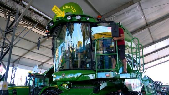 Máquinas expostas na Expodireto Cotrijal prometem dar conforto aos agricultores e elevar a produtividade