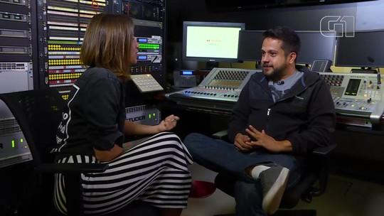 G1 Cultural entrevista o engenheiro de som Henrique Andrade, vencedor de dois Grammys