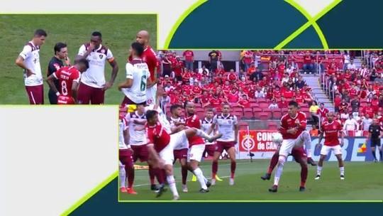 """Mário relata visita à CBF após Internacional x Fluminense e diz: """"A gente não foi prejudicado"""""""
