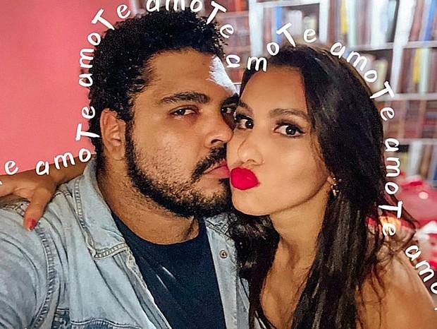 Paulo Vieira e a namorada, Ilana (Foto: Reprodução/Instagram)
