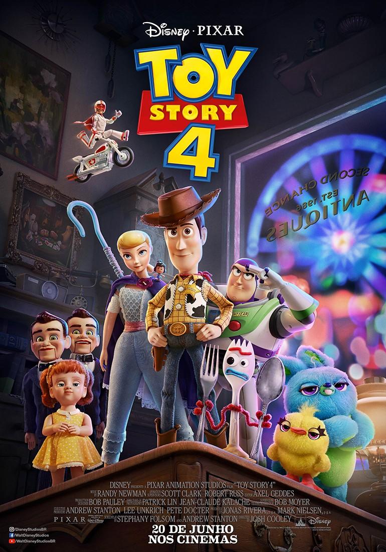 Pôster de Toy Story 4 (Foto: Divulgação/Disney Pixar)