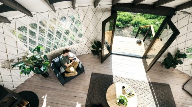 """O objetivo do site é ajudar pessoas que também querem criar seu próprio """"yurt"""" (Foto: Divulgação)"""