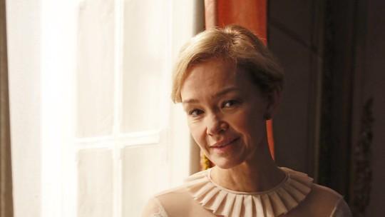 Julia Lemmertz será Greta, irmã de Wolfgang, em 'Novo Mundo'