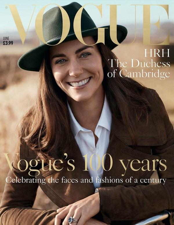 Kate Middleton será capa da revista Vogue britânica pela primeira vez (Foto: Reprodução )