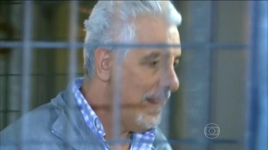 Henrique Pizzolato, condenado no mensalão, passa a noite na Papuda