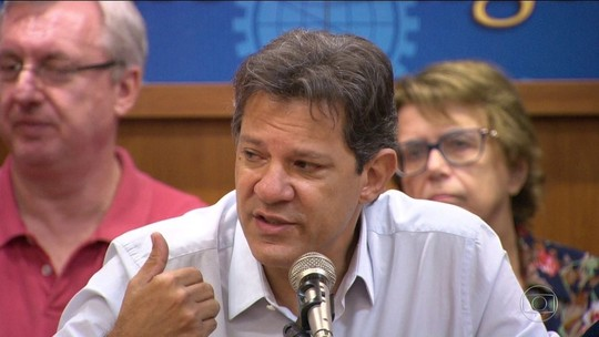 Haddad diz ser contra liberar porte de armas e defende rigor no controle de empresas estatais