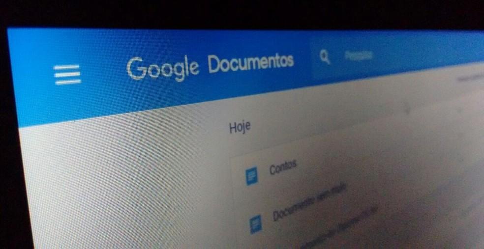 Veja como nomear novas versões do mesmo documento no Google Docs (Foto: Bruno Soares/TechTudo)