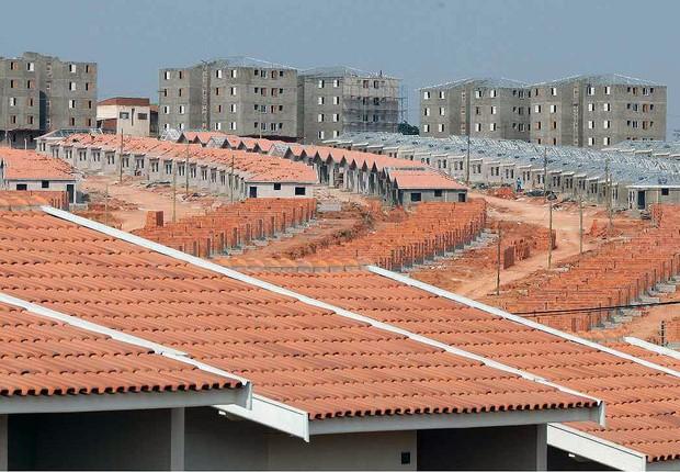 Moradia popular ; financiamento FGTS ; construção ; habitação ; conjunto habitacional ; casas ;  (Foto: Divulgação)