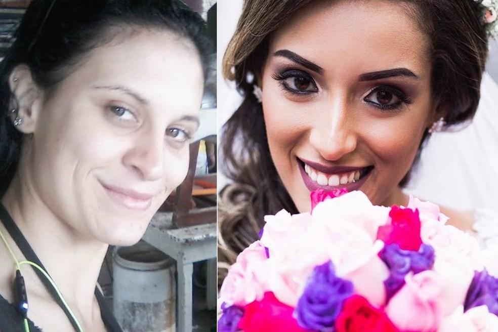 Angélica esfaqueou e matou a vizinha Érica, segundo a polícia, em Santos, SP (Foto: Arquivo Pessoal)