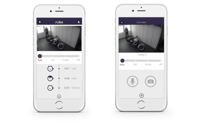 Nubo envia notificações e vídeo para o usuário acessar pelo smartphone (Foto: Divulgação/Panasonic)