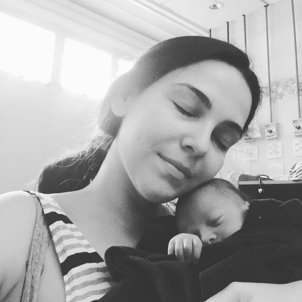 Tainá Müller fala sobre ser mãe (Foto: Reprodução/Instagram)