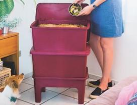 composteira-doméstica-reciclagem-aduboorgânico-minhocas (Foto: Felipe Machado e Júlia Giusti)