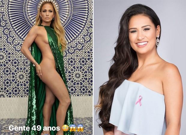 Jennifer Lopez e Simone, da dupla com Simaria (Foto: Reprodução / Instagram)