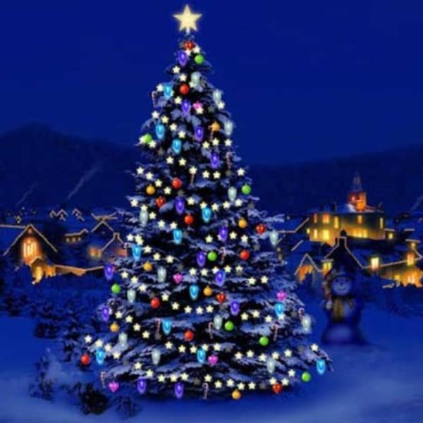 my 3d christmas tree