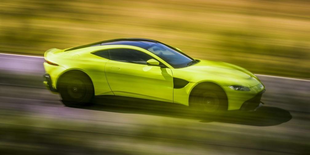 Novo Aston Martin Vantage (Foto: Divulgação)