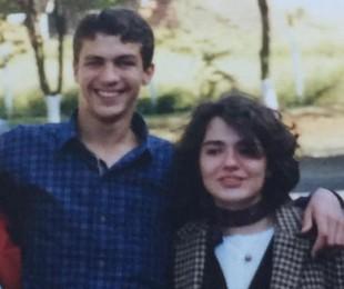 Pedro Dom e a irmã, Erika   Reprodução
